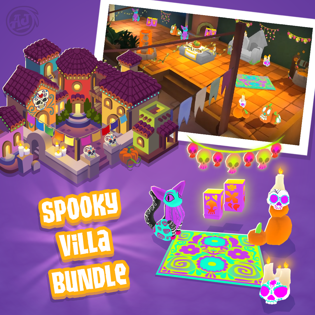 20181010 PW SpookyVilla Bundle