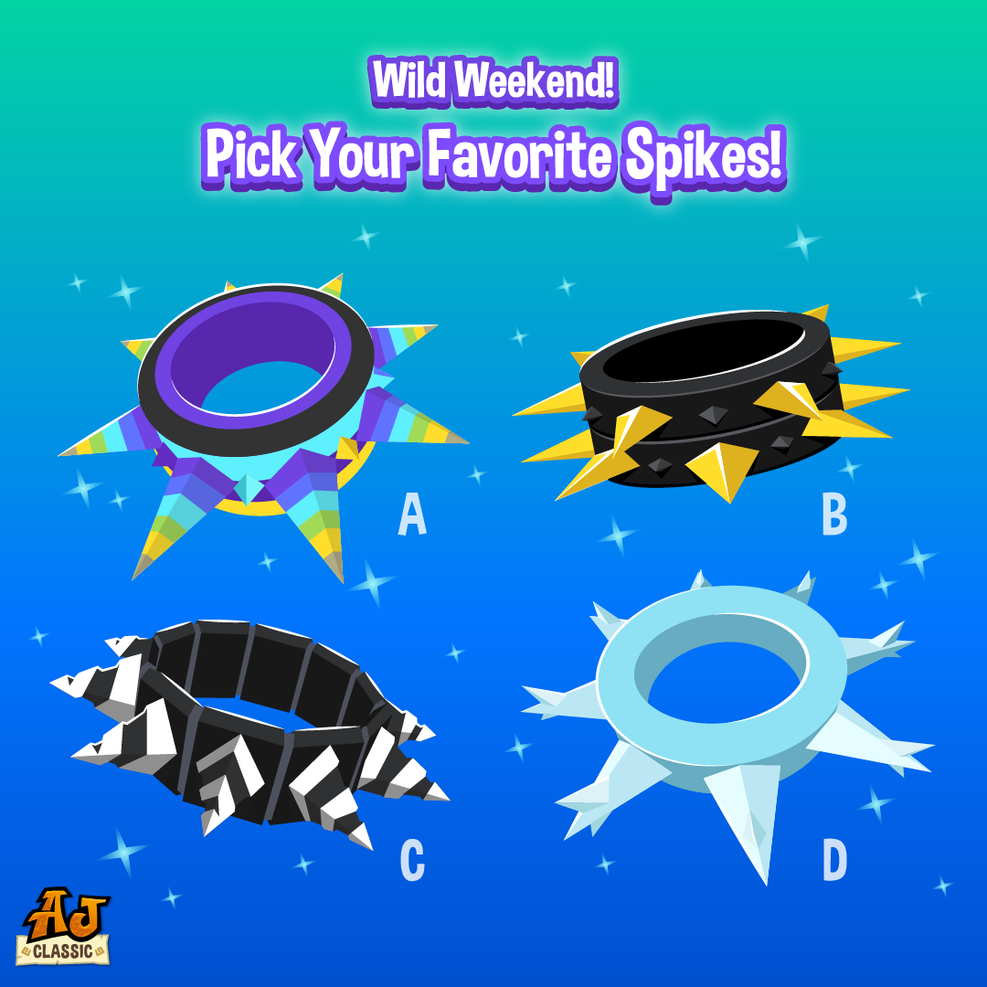 20210714 Wild Weekend Spike Sale-01