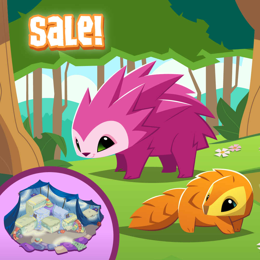 20210420 AJ Sale Pillow Fort, Porcupine, Pet Pangolin-01