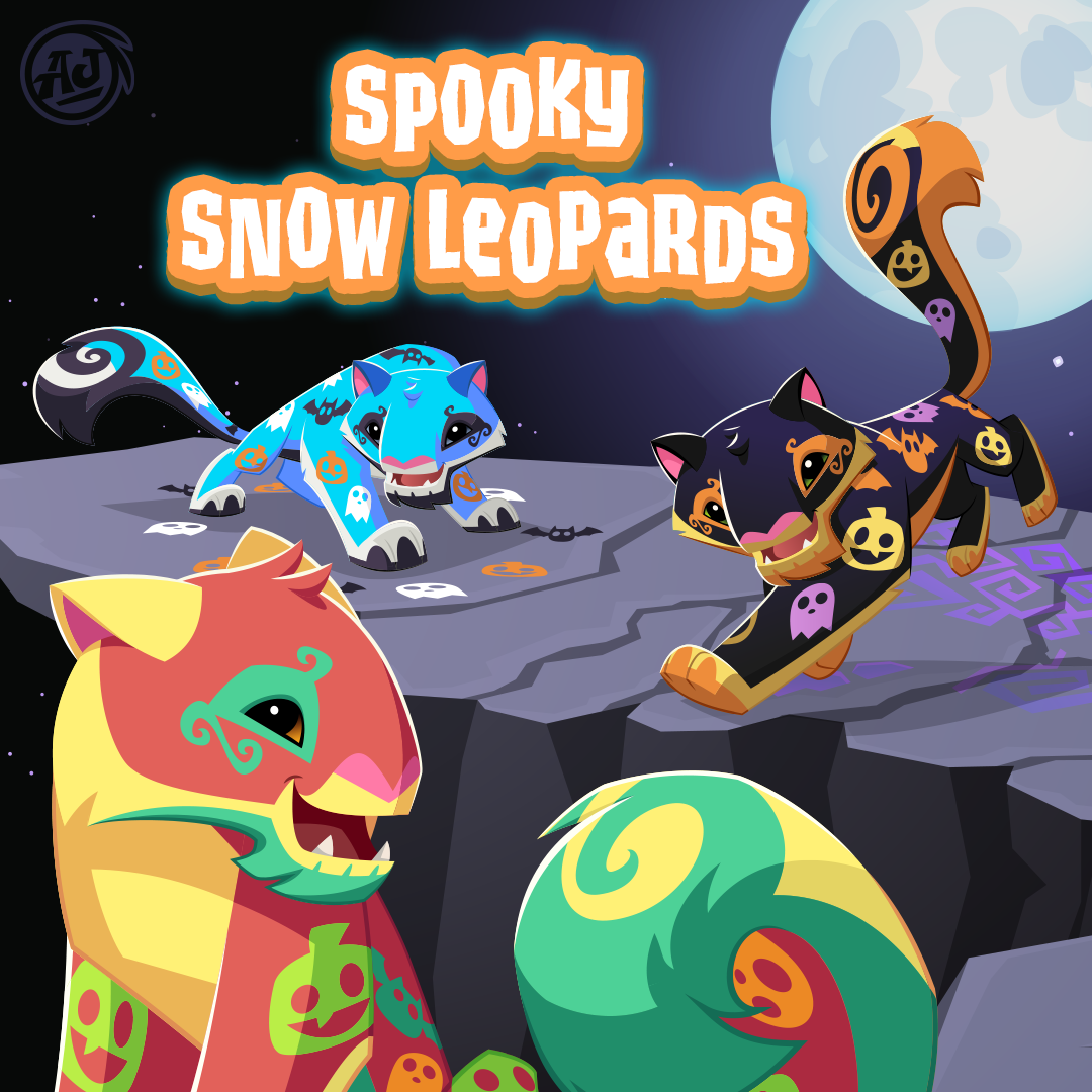 20181011 SpookySnowLeopards