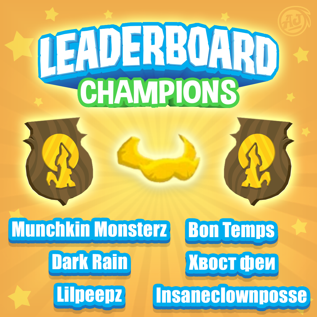 leaderboard champion post nov 2 2018