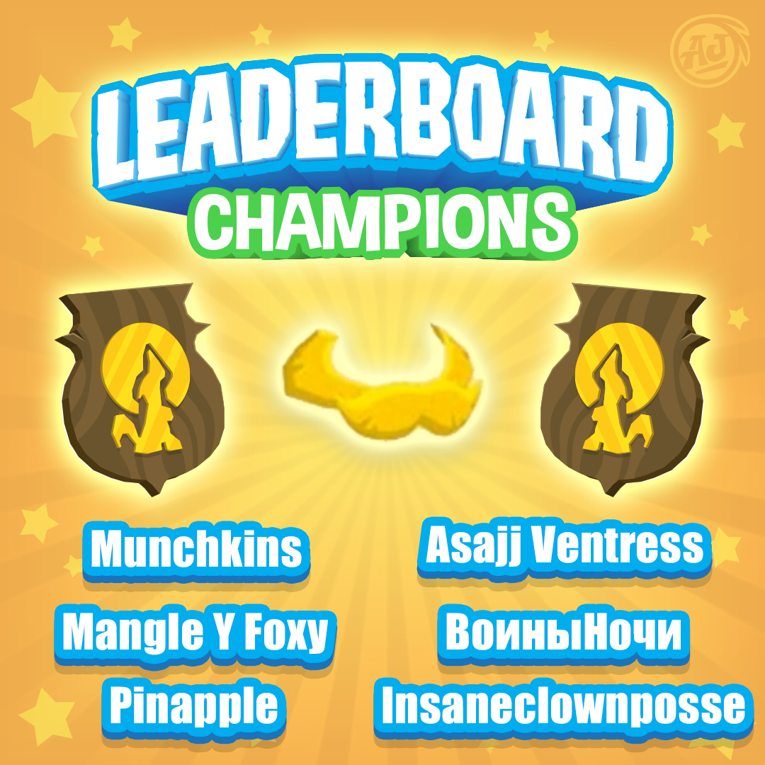 LeaderboardChampion June2018