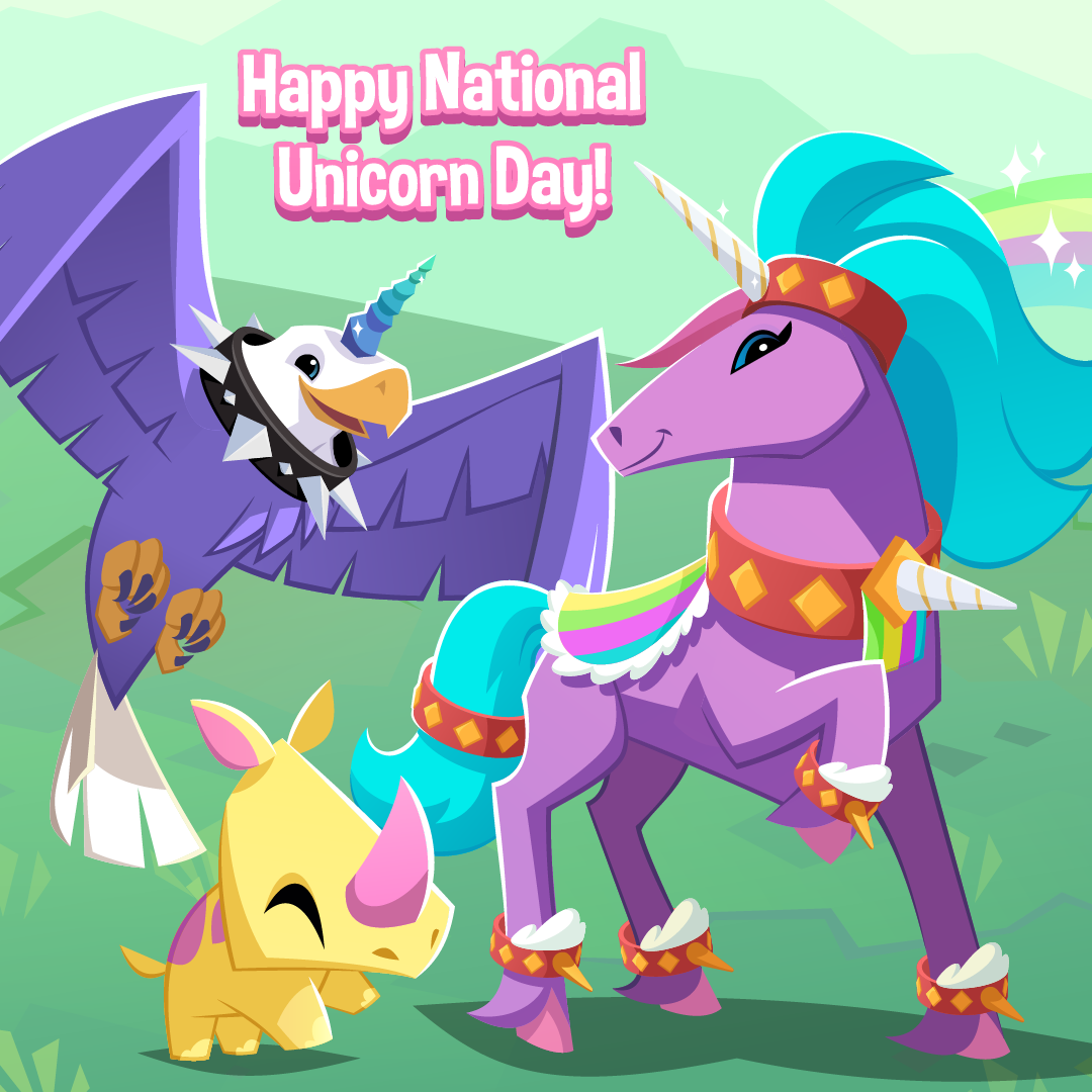 20210408 Happy National Unicorn Day-01