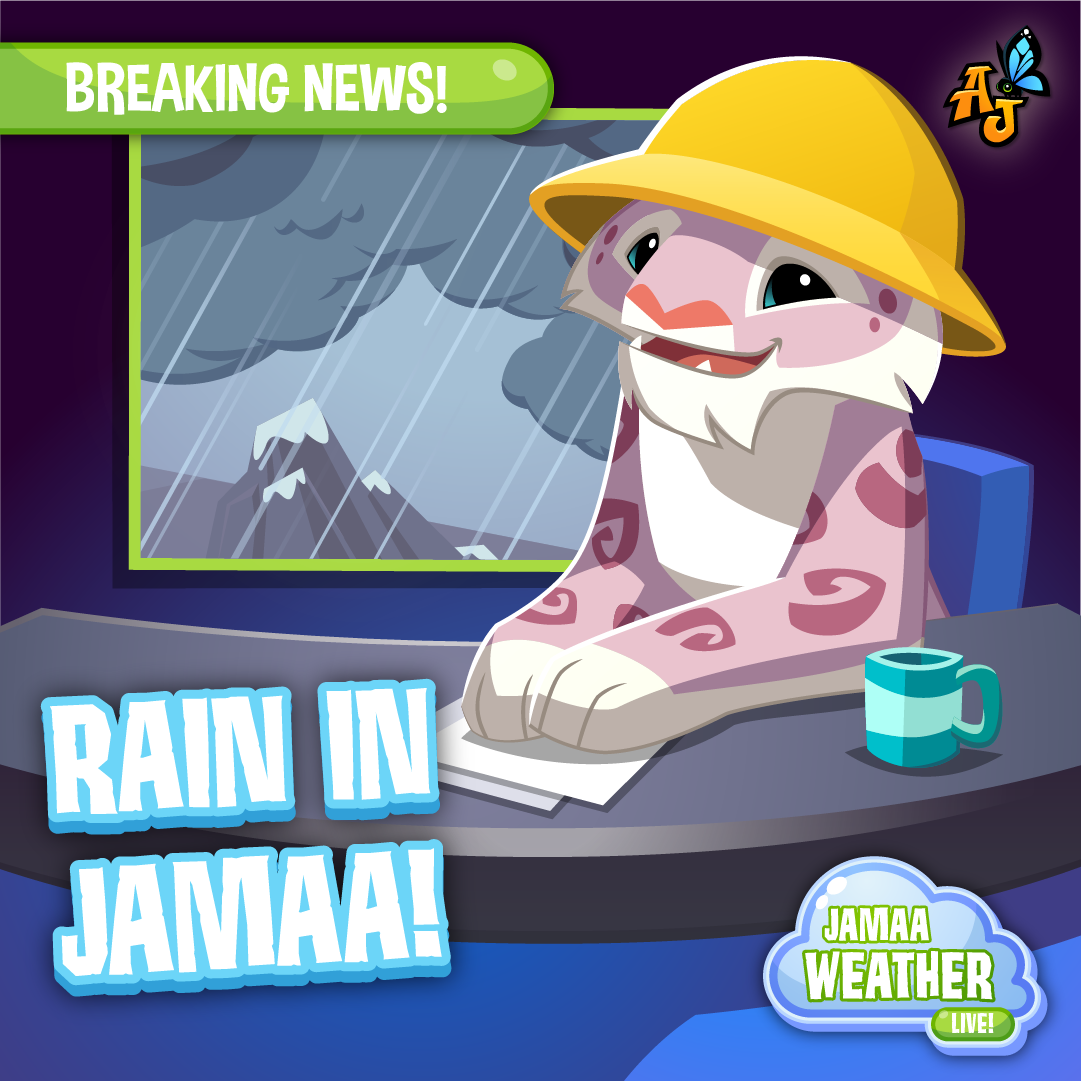 20210401 Rain Weather Report Weather Report Social