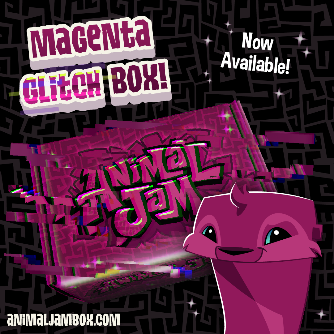 Winter2019 MagentaGlitchBox Now Available (1)