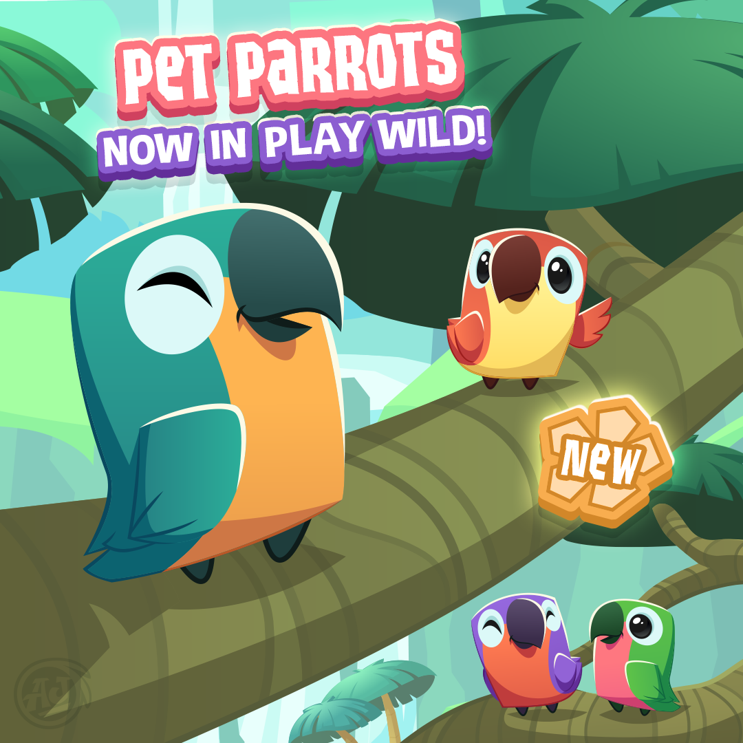 Image of: Arctic Wolf 20181107 Pw Petparrot The Daily Explorer Pet Parrots Have Arrived In Play Wild The Daily Explorer