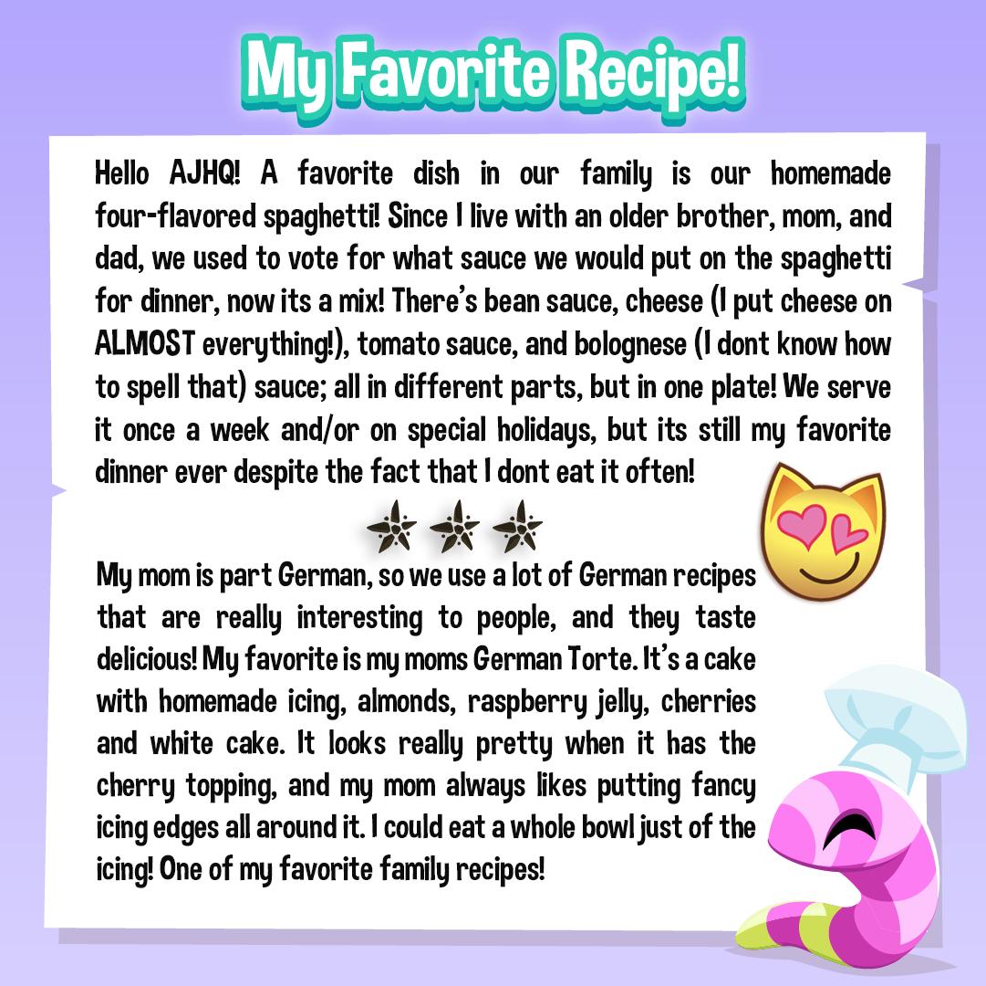 DE My Favorite Recipe (1)