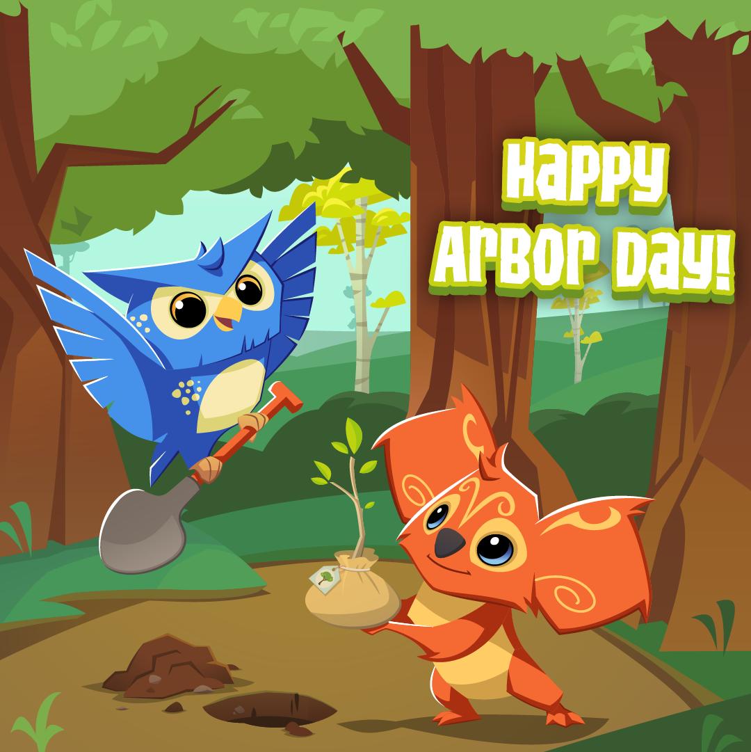 20210429 Happy Arbor Day-01
