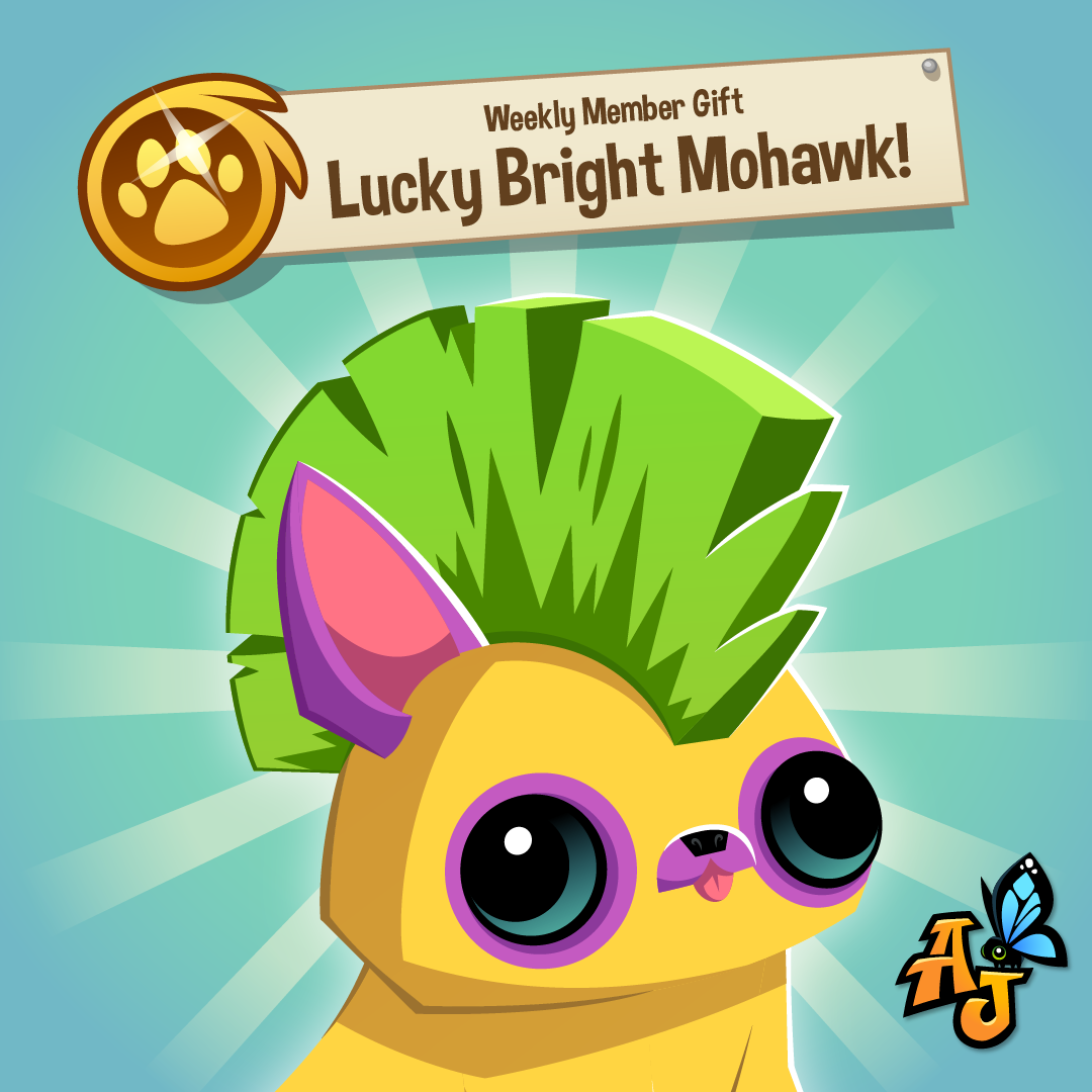 20210316 Member Weekly Gift-Lucky Bright Mohawk-01