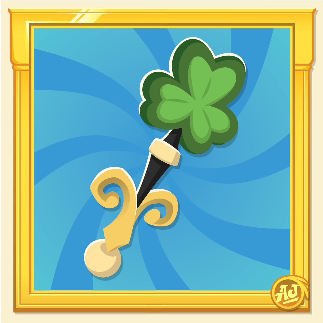 Rare Item Monday - Rare Clover Wand and Rare Lucky Glove