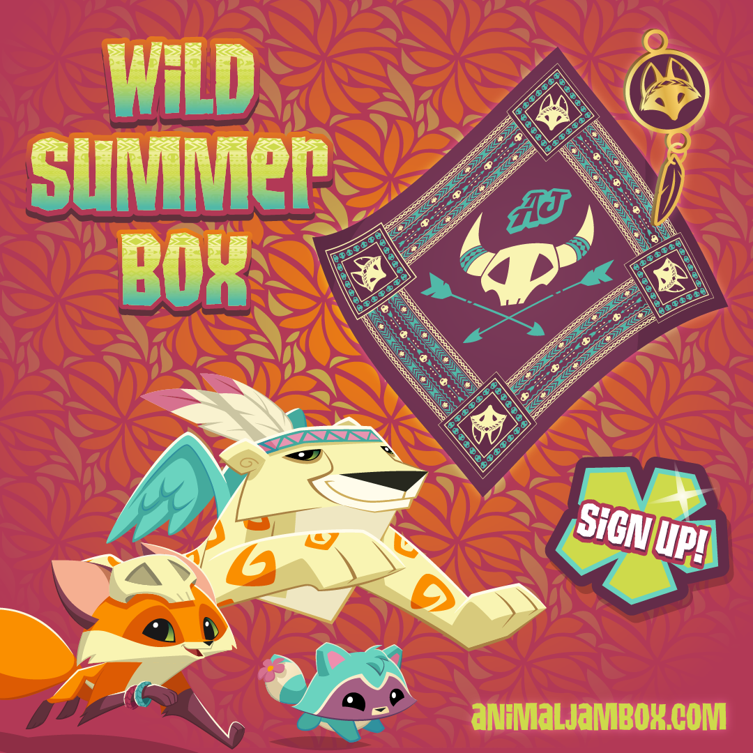 WildSummerBox SocialPosts Bandana and Charm