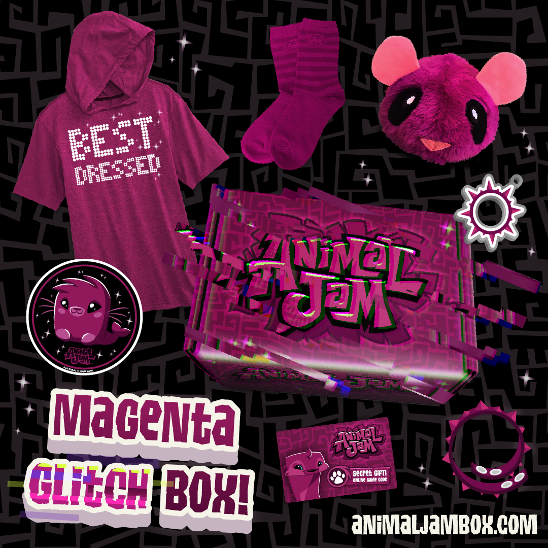Winter2019 MagentaGlitchBox All Items