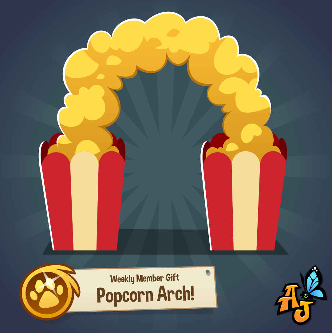 20200702 Popcorn Arch