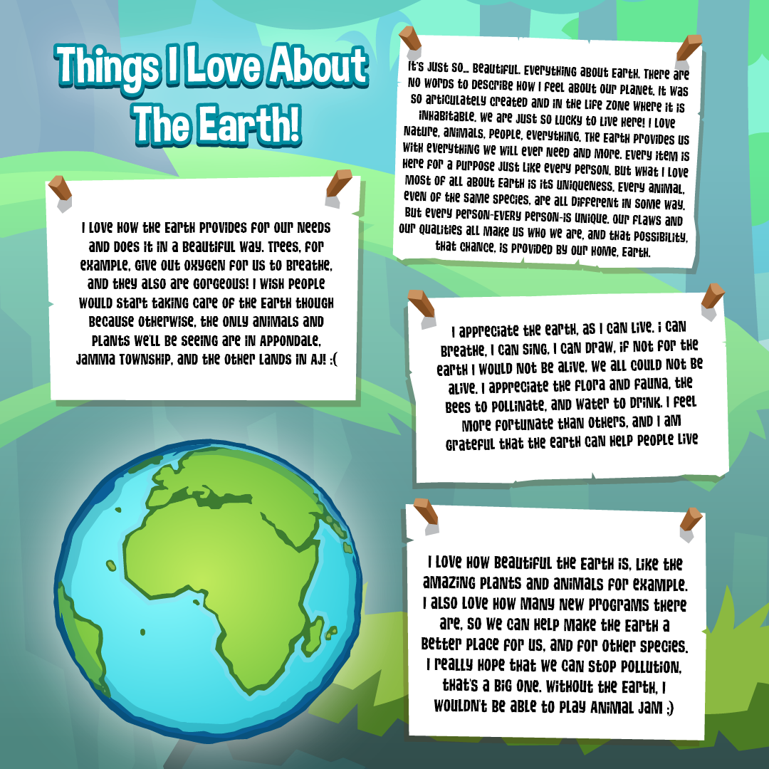 things i love about earth day·2