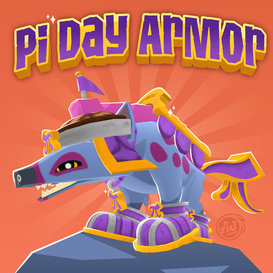Pi Day Armor in Play Wild! - The Daily Explorer
