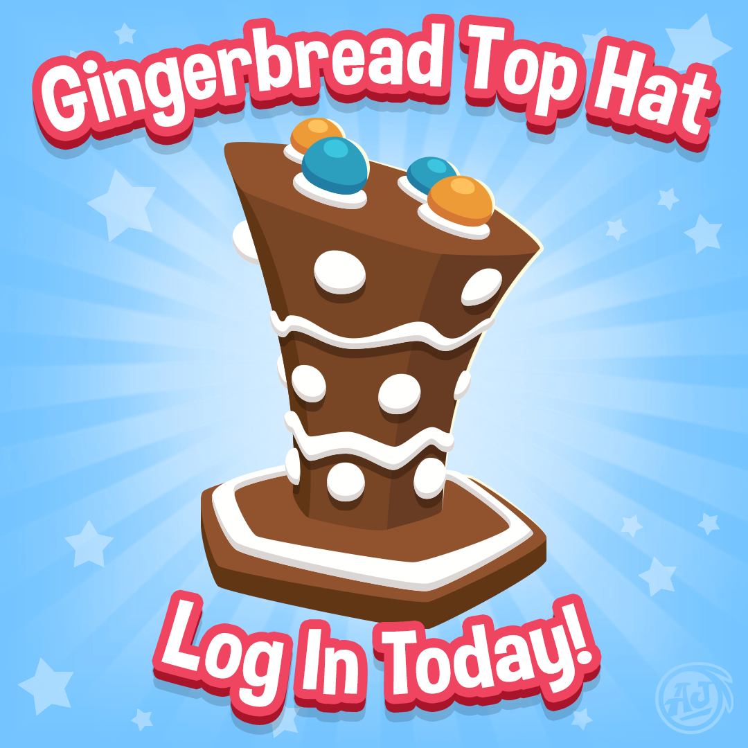 jamaalidays-daily-gift-log-in-and-get-your-gingerbread-top-hat