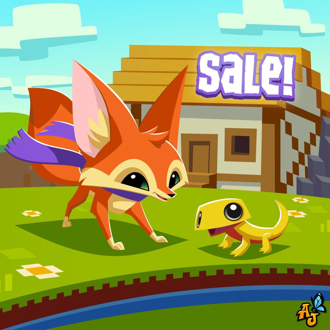 20210921 Pixel Palace, Fennec Fox, Gecko Sale-01