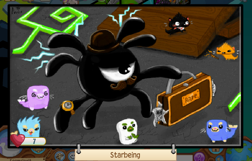 Image of: Youtube We Cant Help But Share These Creepy Yet Captivating Night Of The Phantoms Masterpieces By Our Talented Animal Jam Artist Community These Pieces Are All The Daily Explorer Animal Jam Jammer Art Page The Daily Explorer
