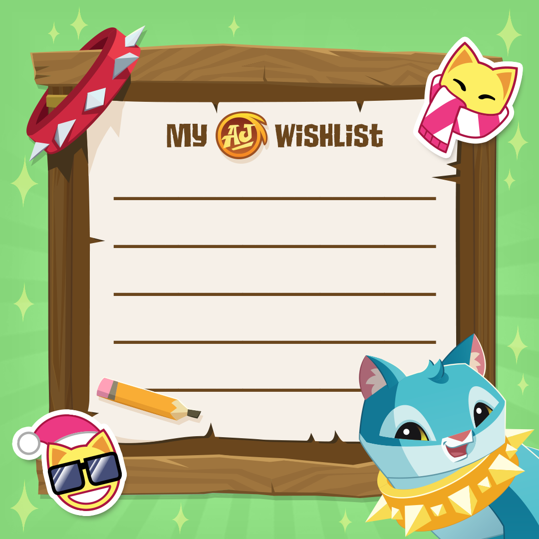 AJ Wish List! - The Daily Explorer