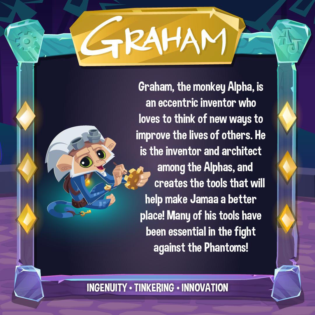 Social Graham Info Square