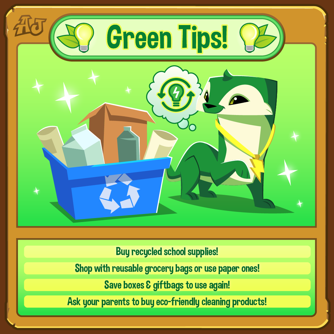 Green Tips Shopping