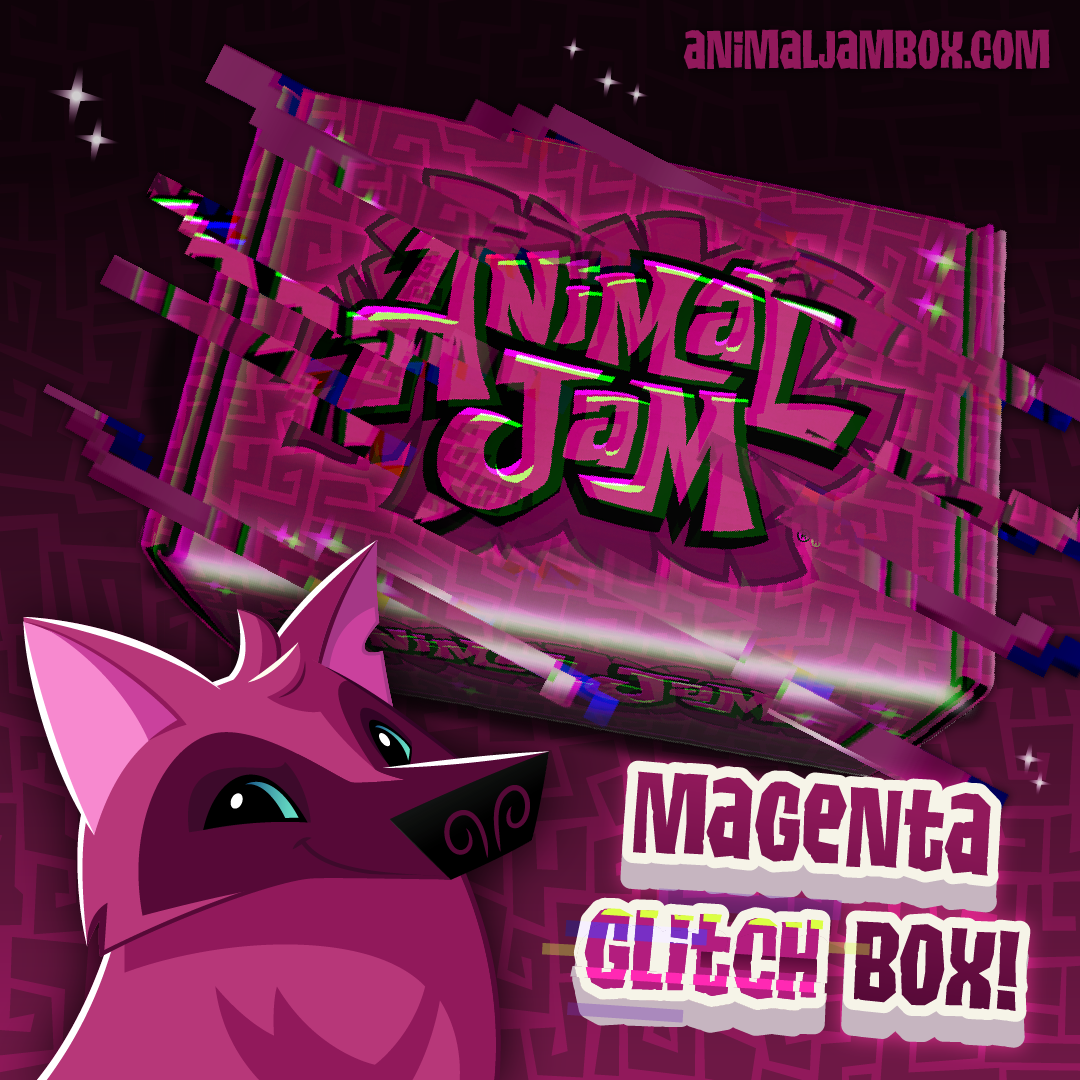 Winter2019 MagentaGlitchBox Box Tease