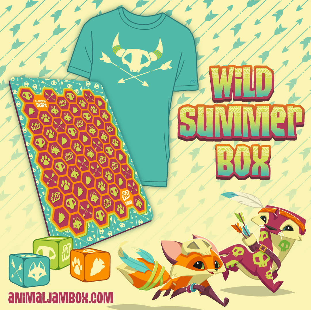 WildSummerBox SocialPosts Shirt and Game