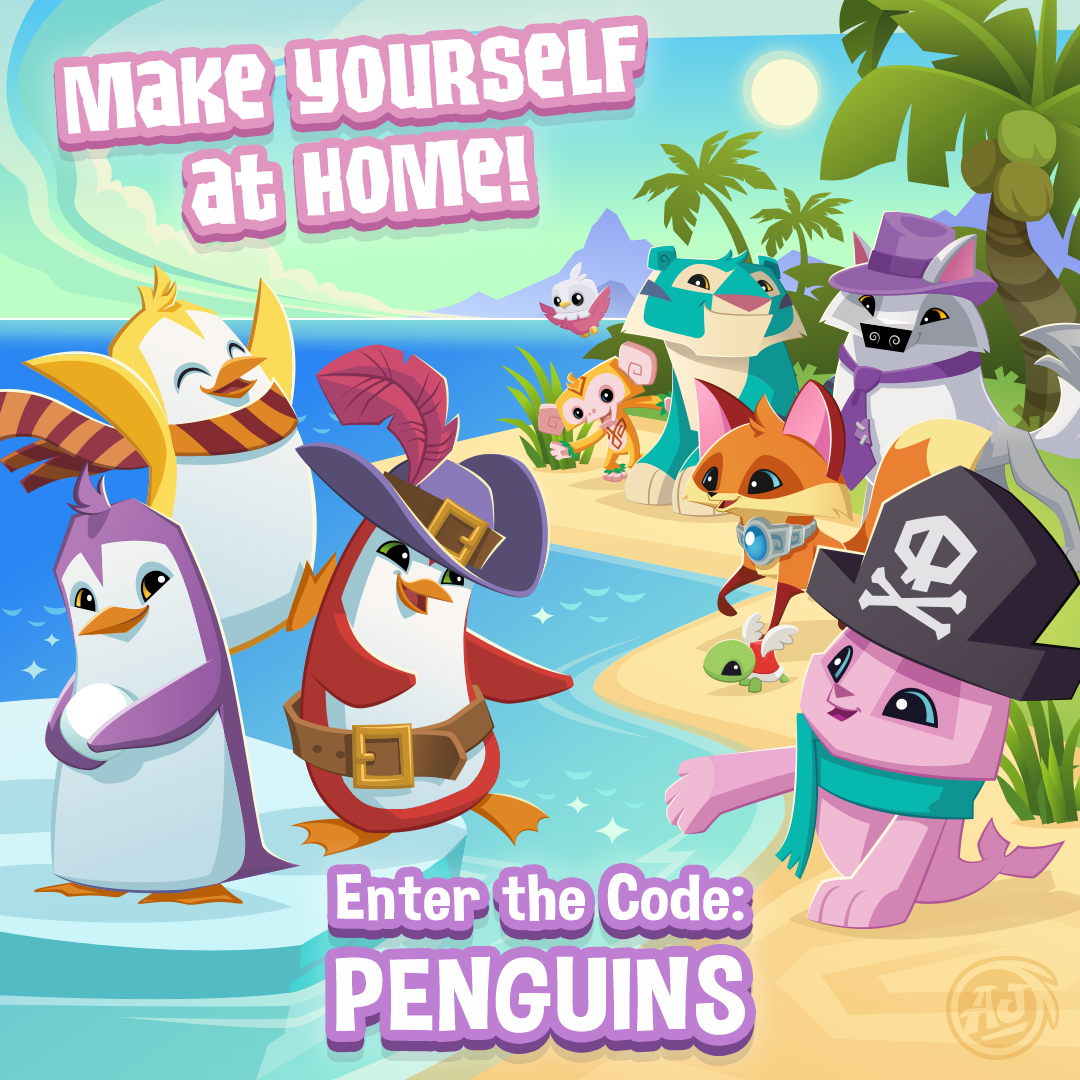 Invite Your Penguin Buddies To Join You On Play Wild The Daily
