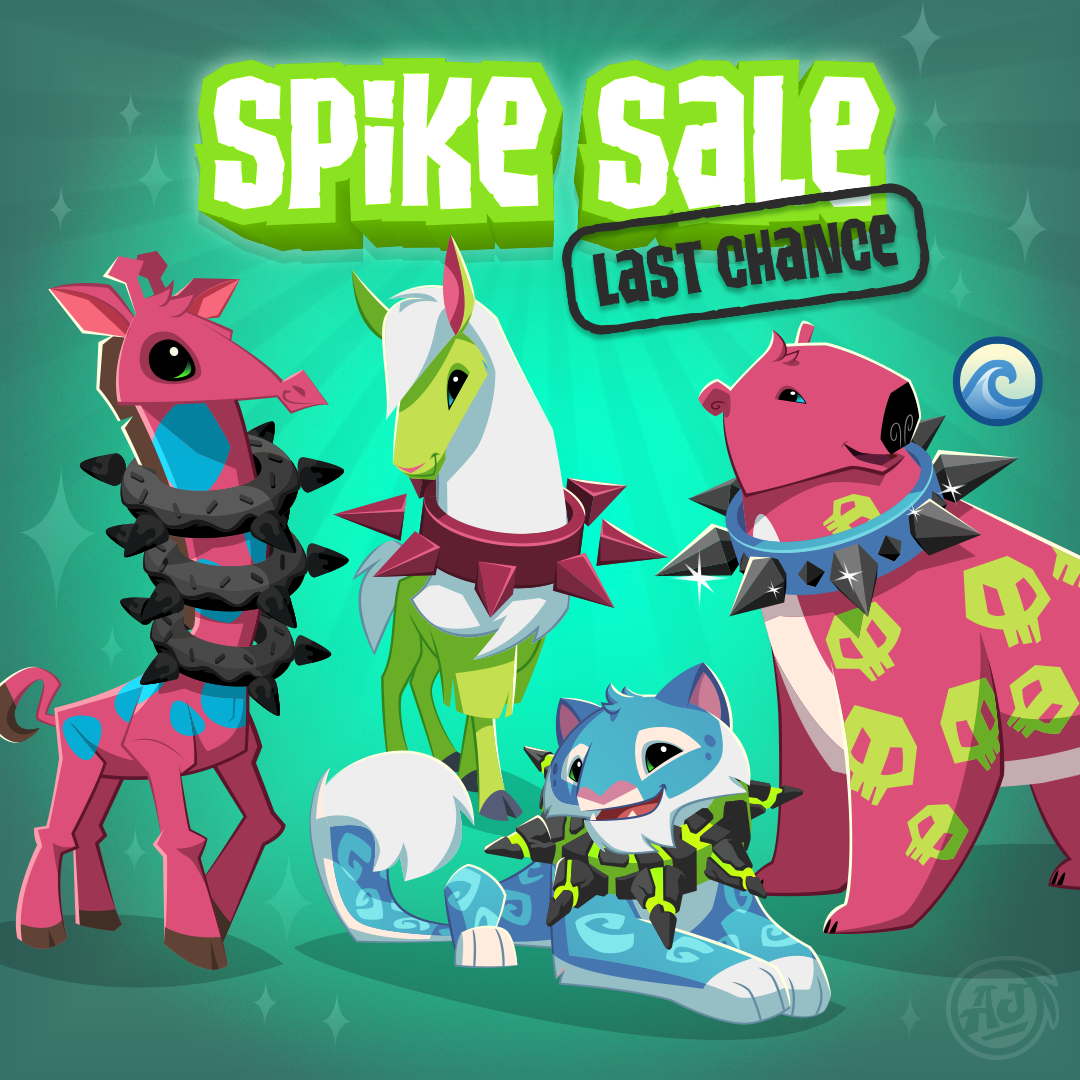 20181125 SpikeSale LastChance