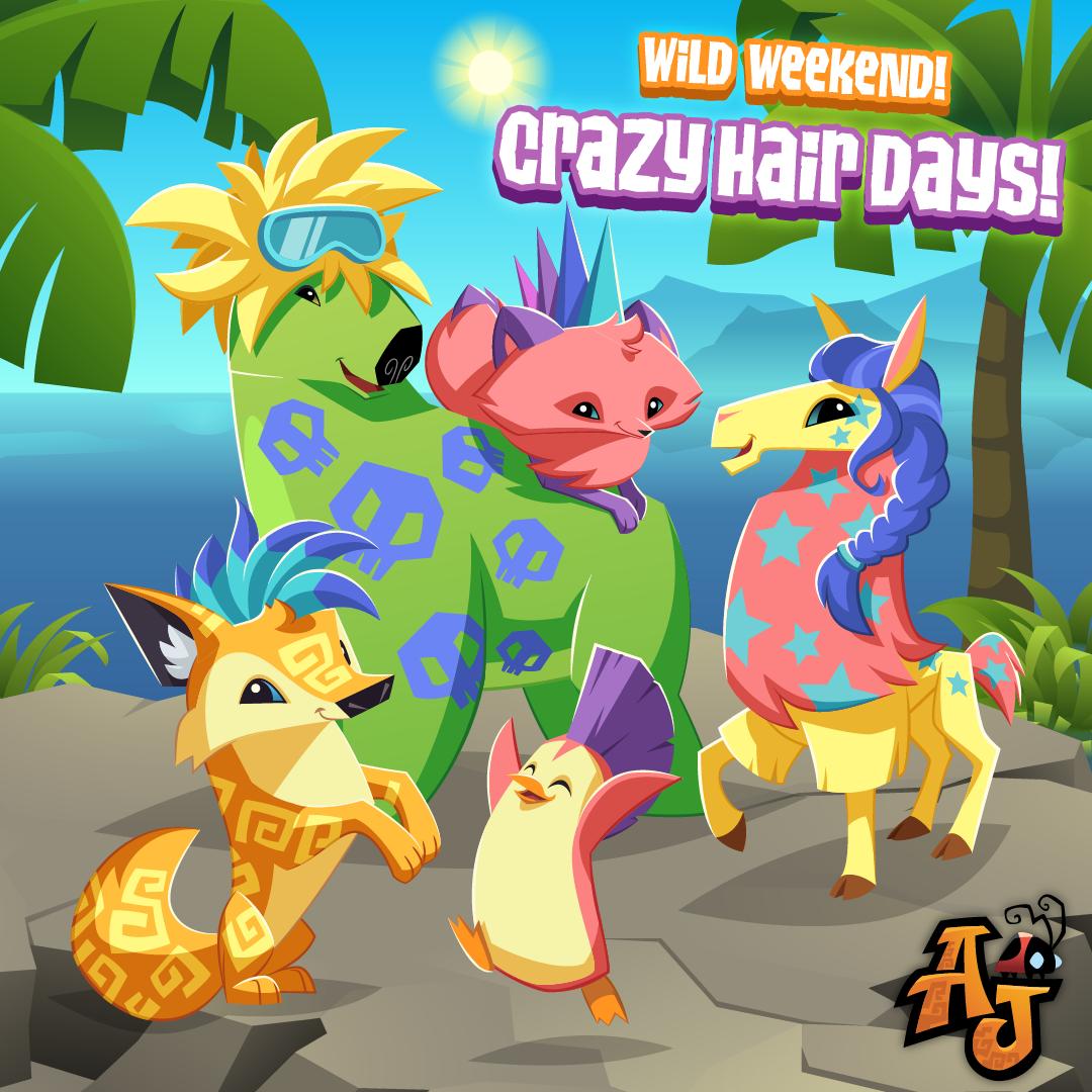 WildWeekend CrazyHairDay-01
