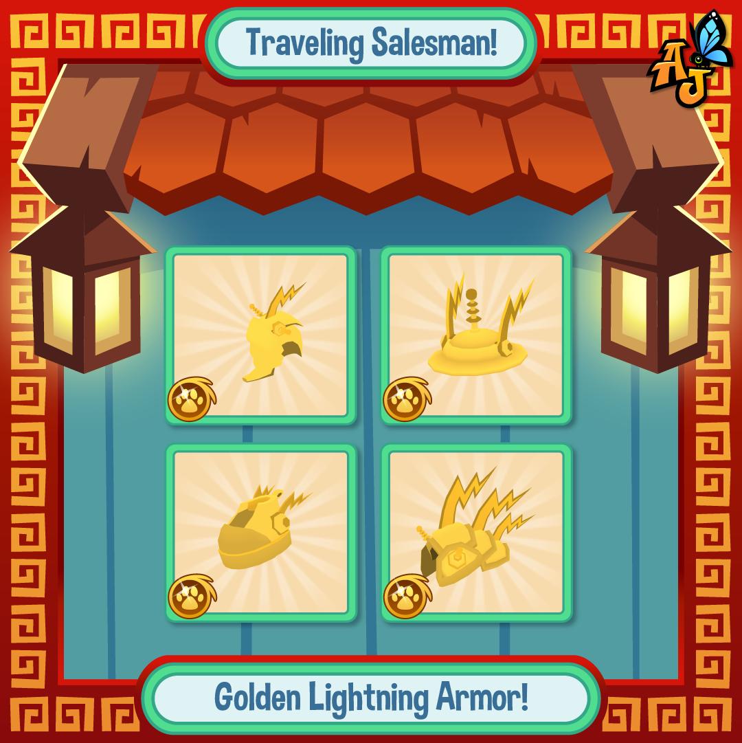 20200523 GoldenLightningArmor Sale