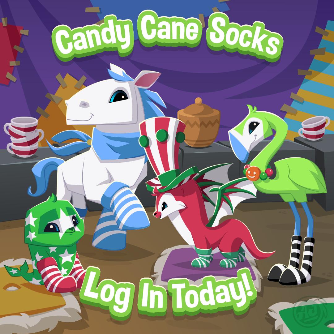20181209 AJ CandyCaneSocks
