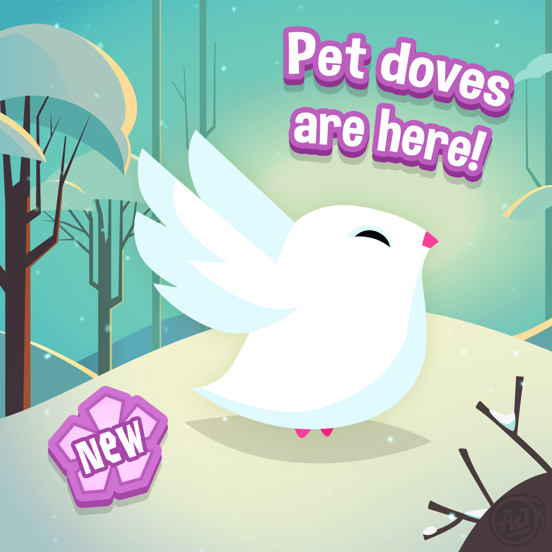 Pet Doves Have Arrived in Play Wild!